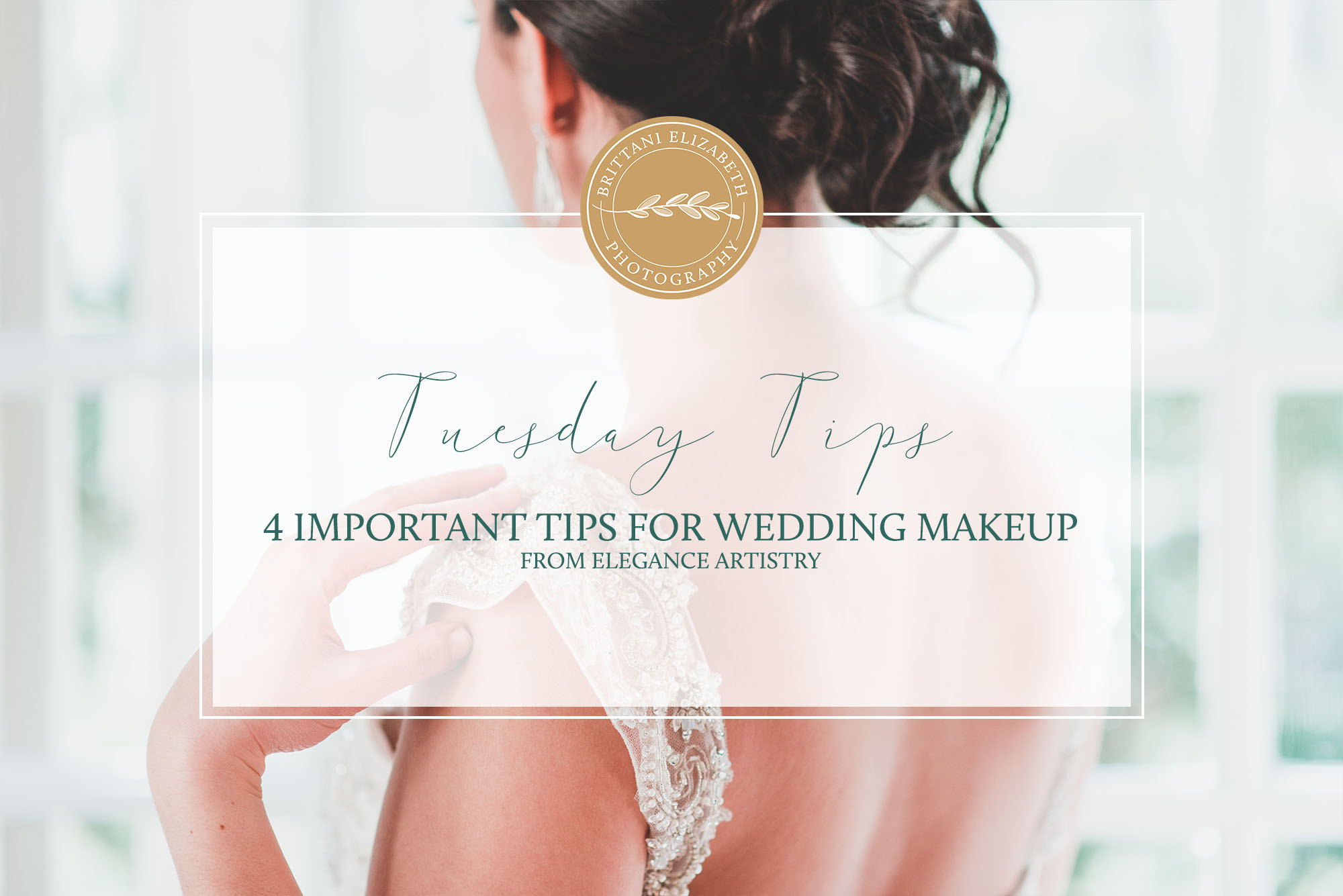 4 Important Tips for Wedding Makeup