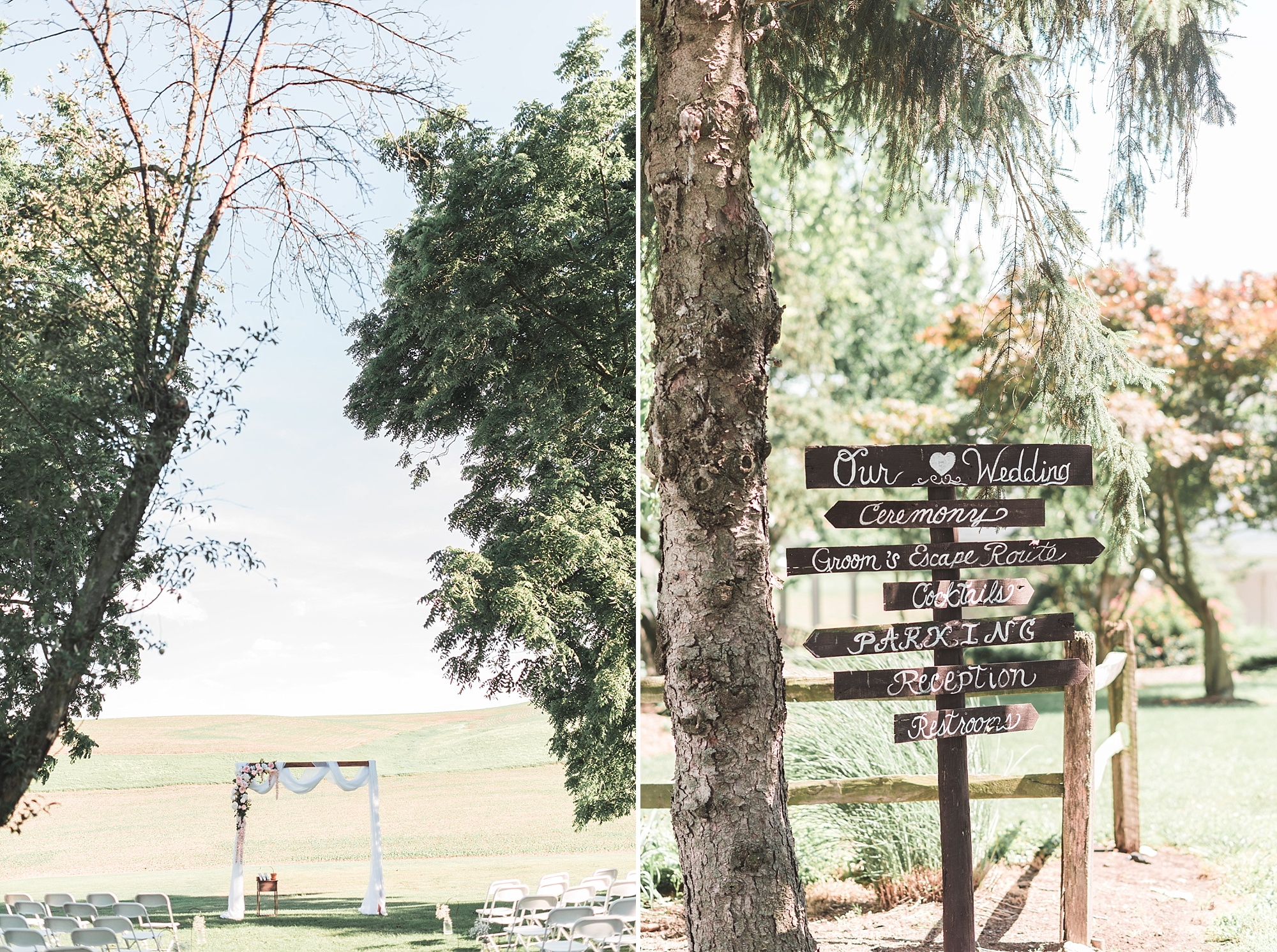 The Mitches Colonial Pines Lewisburg Wedding Brittani